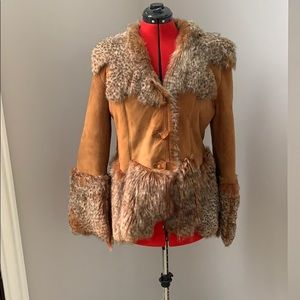Jackets & Blazers - Real Lynx fur coat